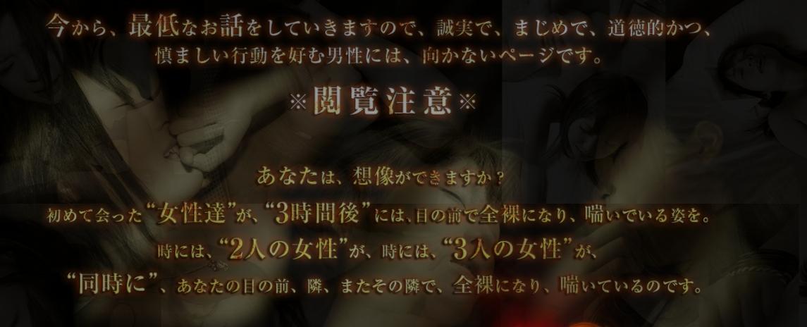 ■女性を淫欲の渦へと誘い込む、チーム・ロジック・ヤリコン【ナパームボム】■ by 有限会社インターレックスで少しずつ良い影響が?